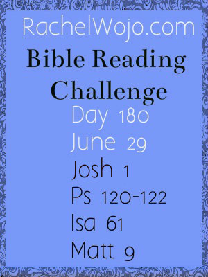 bible reading challenge day 180