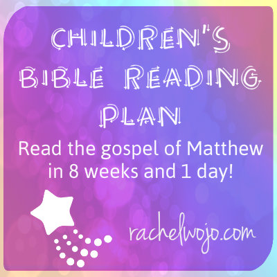 children's bible reading plan