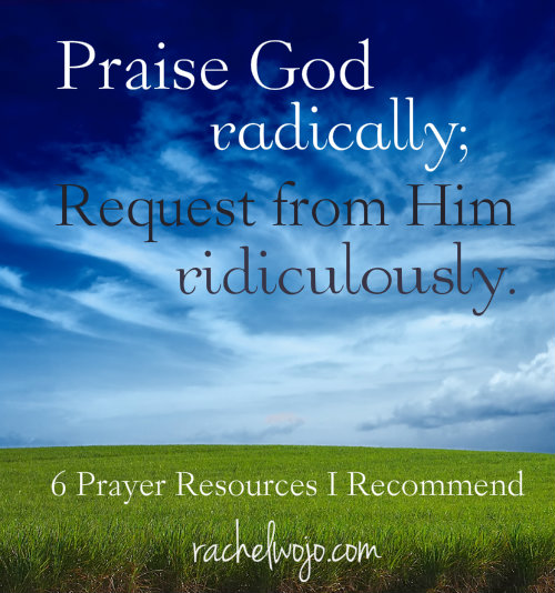 prayer resources I recommend