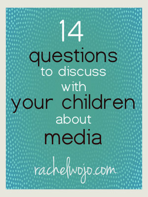 14 Questions to Discuss With Your Children About Media