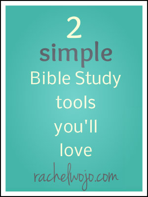 simple bible study tools