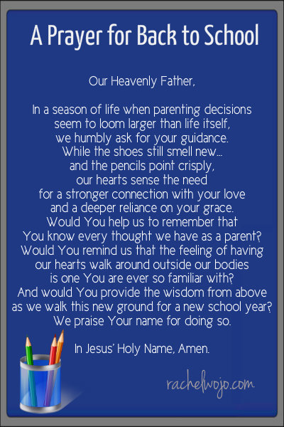 backtoschoolprayer