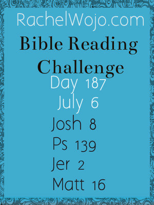 bible reading challenge day 187