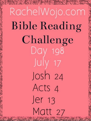 bible reading challenge day 198
