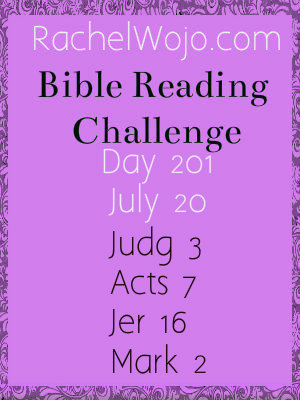 bible reading challenge day 201