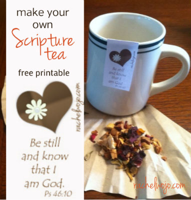 make your own scripture tea