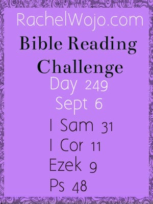 bible reading challenge day 249
