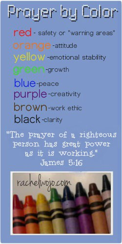 prayer color guide