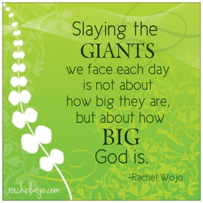 how big God is