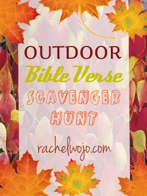 bible verse scavenger hunt