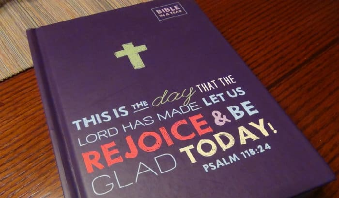 Children's Bible In A Year Review and Giveaway