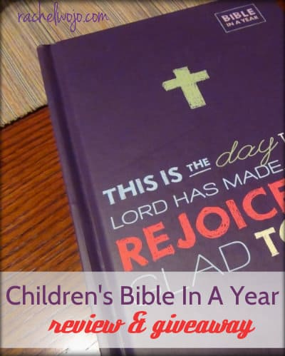 childrens bible in a year