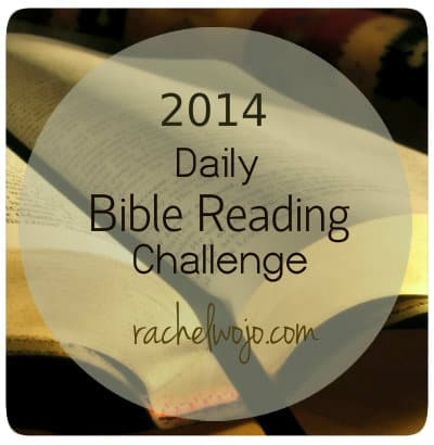 daily Bible reading challenge