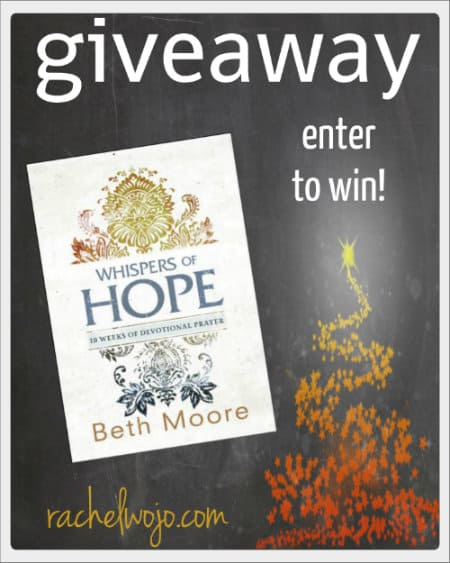 whispers of hope giveaway