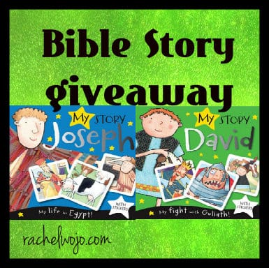 Bible story giveaway