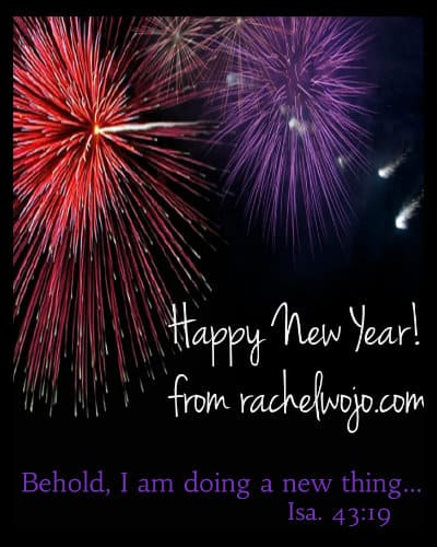Bible Reading Bookmarks and Happy New Year! - RachelWojo.com