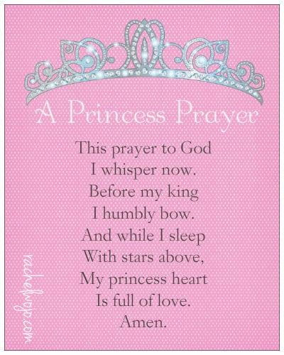 Prayer for my granddaughter