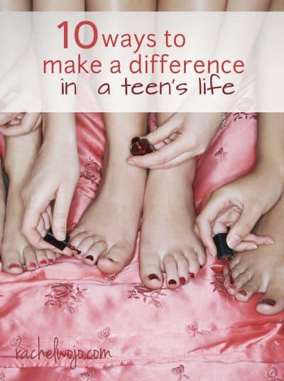 ways to encourage a teen