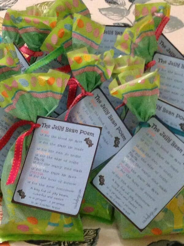 Jelly bean poem easter gift rachelwojo jellybeanpoemdelivery negle Images