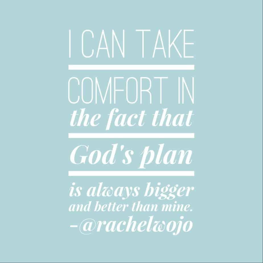 gods plan plain
