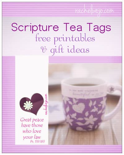scripture tea gift ideas