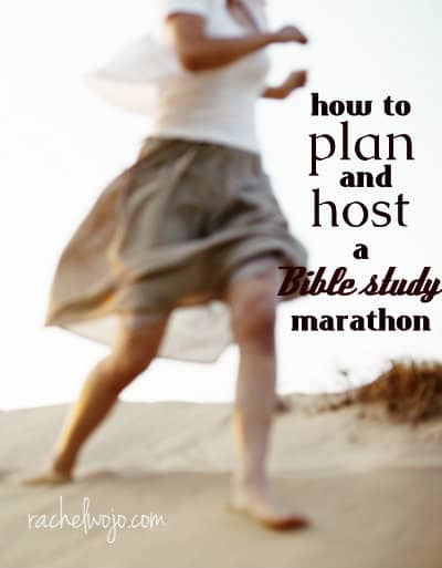 How to Plan and Host a Bible Study Marathon