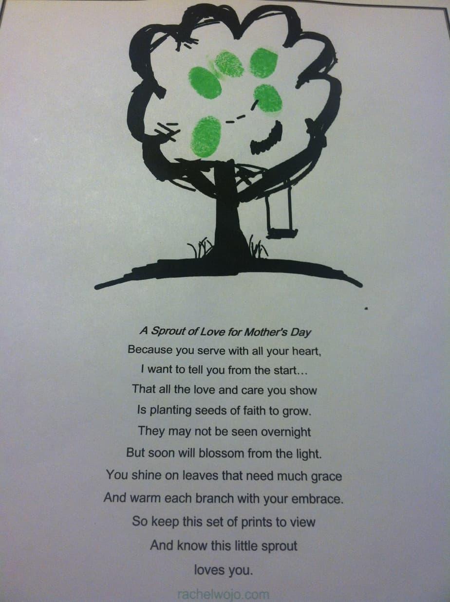 sitting in a tree poem