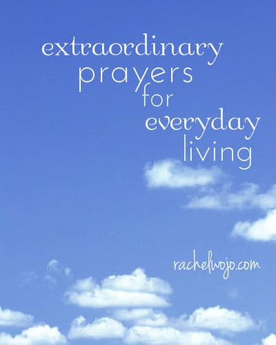 extraordinary prayers