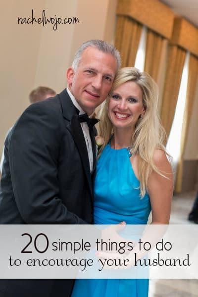 encourage your husband