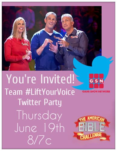 twitter party bible challenge