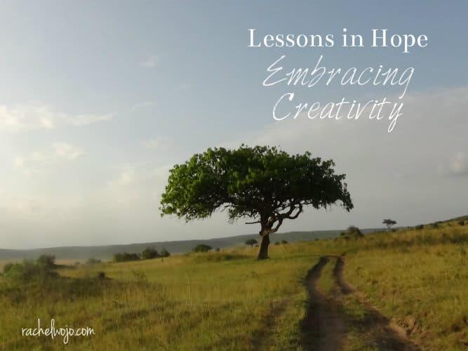 embracing creativity