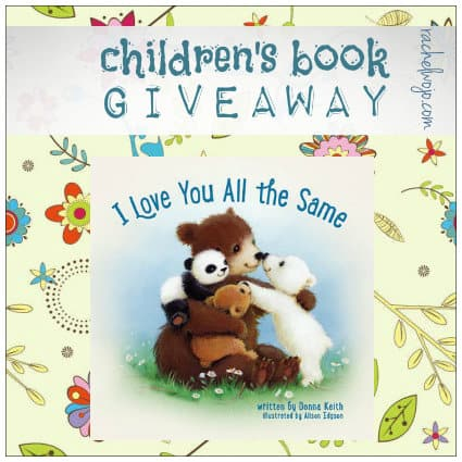 i love you all the same book giveaway