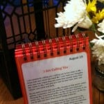 devotional calendar for table wide