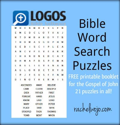 FREE Bible Word Search Puzzles