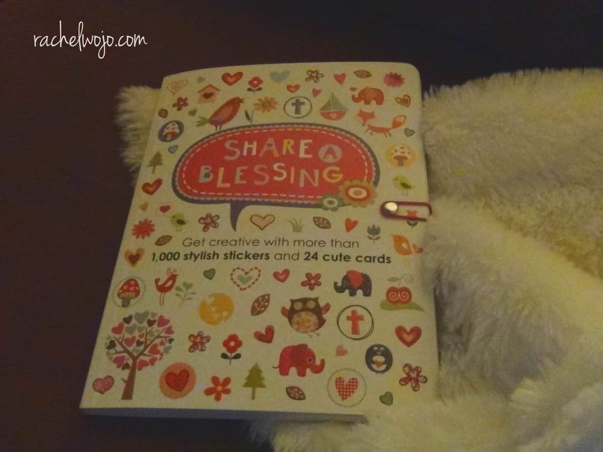 share a blessing book