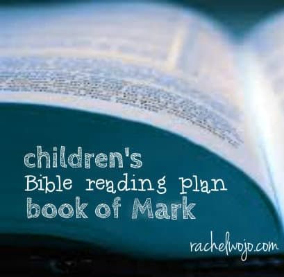children's Bible reading Mark