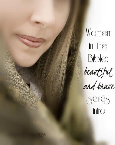 women in the bible logo