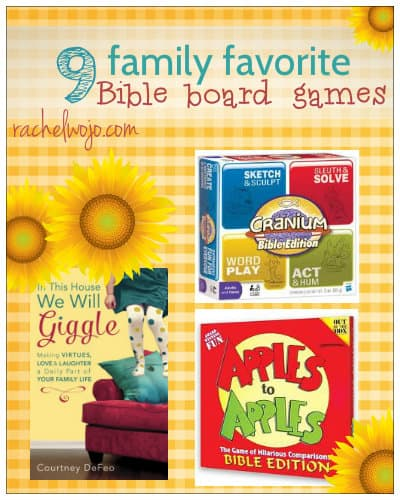 9 Family Favorite Bible Games - RachelWojo com