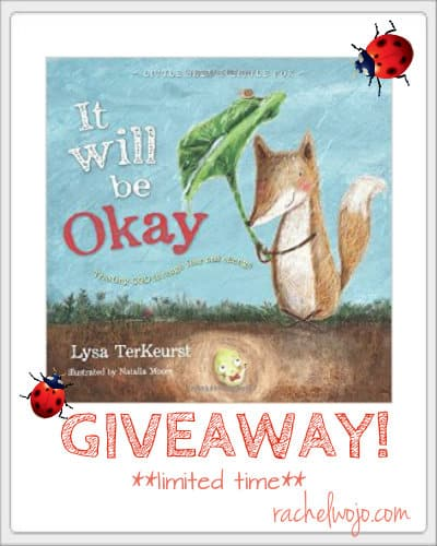 book giveaway it will be okay