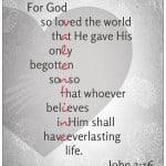 John 3:16 for God