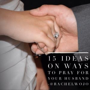 ideas on ways to pray