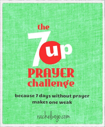 7up prayer challenge