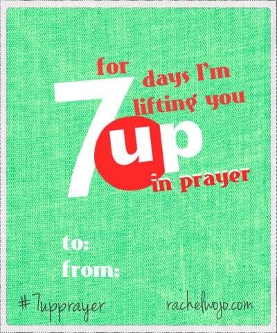 7up prayer tag