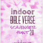 indoor bible scavenger hunt