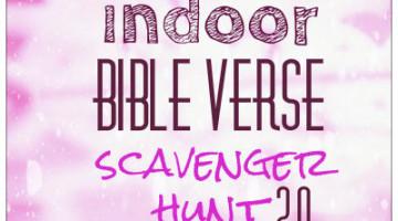indoor bible scavenger hunt