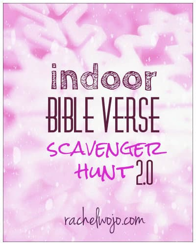 Well-known Indoor Bible Scavenger Hunt UV11