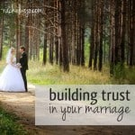 build trust in marriage