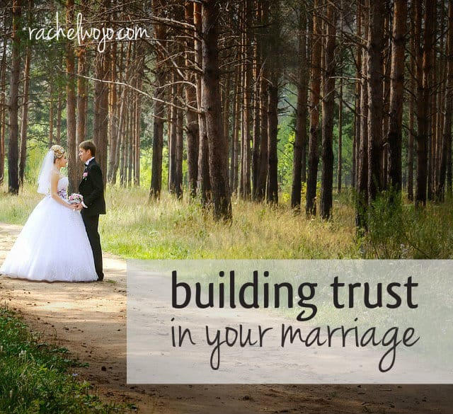 build trust in marriage