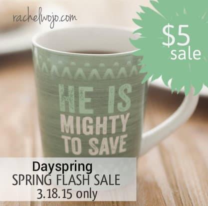 dayspring flash sale