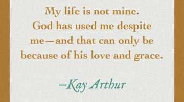 Kay Arthur image quote